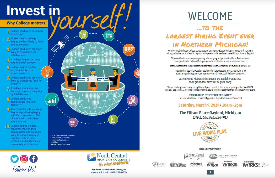 Michigan Job Hiring Event Directory